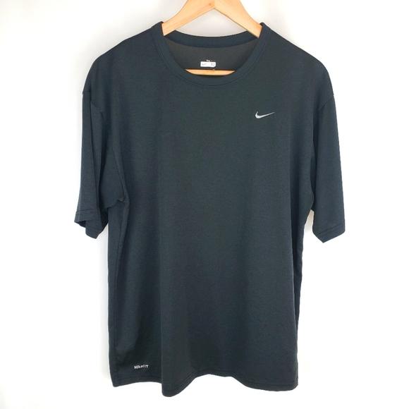Nike black tee shirt Medium